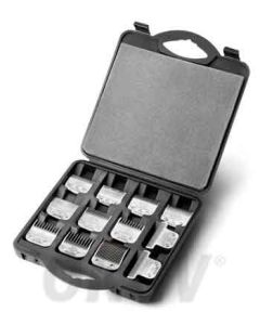 Blade case opbergkoffer voor 12 koppen