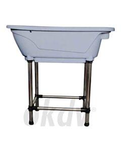 Mini bad met poten 96x50 cm
