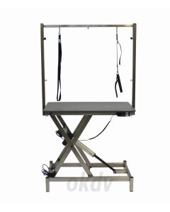 Scissor elektrisch verstelbare RVS trimtafel