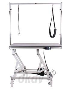 King elektrische trimtafel met wielhef