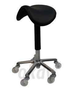 Trimstoel Ergo-chair, originele zadelzit