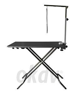 3-Standen tafel 110x60 cm, hoogte: 58, 77 en 90 cm