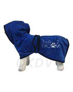 Badjas voor honden Medium