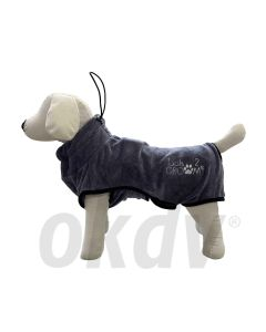Badjas luxe voor honden Medium