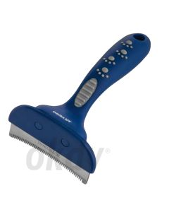 Deshedding tool, curved