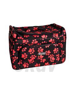 Luxe tas zwart met pootjes